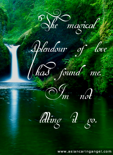 ACA'S LOVE POEMS_The magical splendour of love has found me
