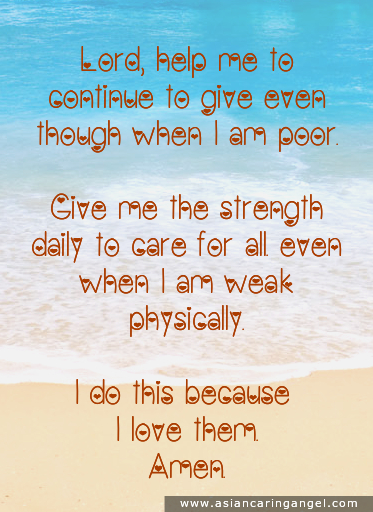 150803_8_ACA'S QUOTES AND POEMS_FAMILY & FRIENDSHIP_Lord help me to continue to give even though when I am poor