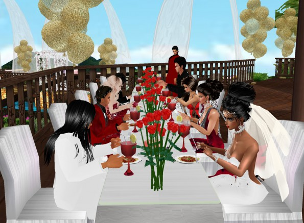 MRSLOLABITESME AND MRVINCENTBITESME_WEDDING PIC_AT THE RECEPTION