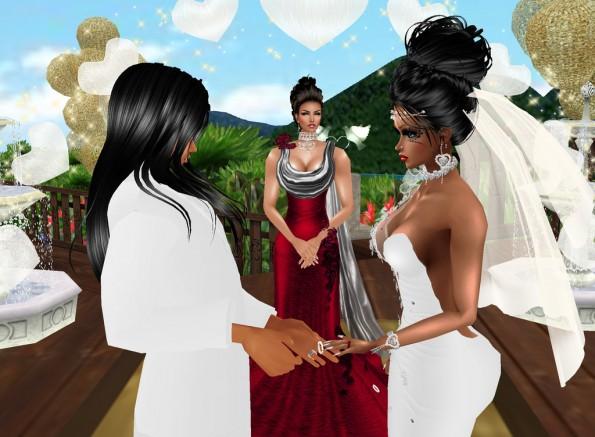 MRSLOLABITESME AND MRVINCENTBITESME_WEDDING PIC_EXCHANGE OF WEDDING RINGS