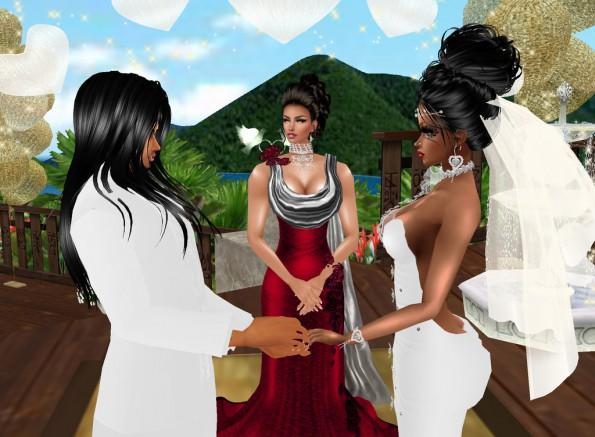 MRSLOLABITESME AND MRVINCENTBITESME_WEDDING PIC_EXHCANGE OF WEDDING VOWS_PIC 1