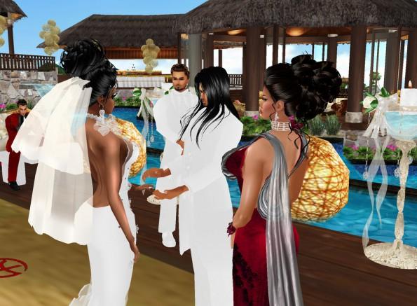 MRSLOLABITESME AND MRVINCENTBITESME_WEDDING PIC_EXHCANGE OF WEDDING VOWS_PIC 2